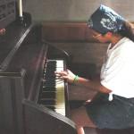 day 1  Jessica Playing Church Organ