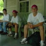 day 1 Jamie, Josh, Kevin