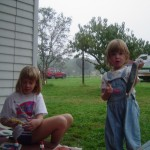 2004 Weekend in the Boonies_Brooke, Leah