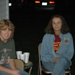 2004 Weekend in the Boonies_Robin, Judy