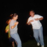 2004 Weekend in the Boonies_Line Dance Chicken Dance Lyndsie, Sue