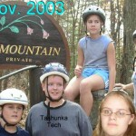 NOV.2003 Bike to Ice Mt.
