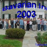 Bavarian Inn 2003 German Field Trip