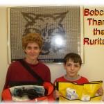 Bobcats Thank Ruritans Donna Steward