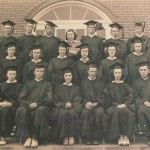 Capon Bridge High Graduates circa 1940s