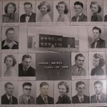 Capon Bridge High Graduates 1951