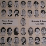 Capon Bridge High Graduates 1952
