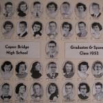 Capon Bridge High Graduates 1952