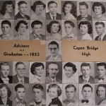 Capon Bridge High Graduates 1953