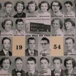 Capon Bridge High Graduates 1954