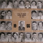 Capon Bridge High Graduates 1955