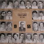 Capon Bridge High Graduates 1955