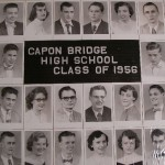 Capon Bridge High Graduates 1956