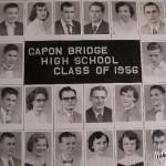 Capon Bridge High Graduates 1956
