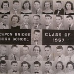 Capon Bridge High Graduates 1957