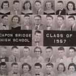 Capon Bridge High Graduates 1957