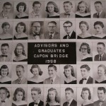Capon Bridge High Graduates 1958