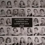 Capon Bridge High Graduates 1958