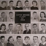 Capon Bridge High Graduates 1959