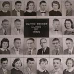 Capon Bridge High Graduates 1959