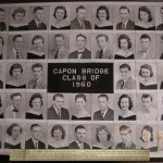 Capon Bridge High Graduates 1960