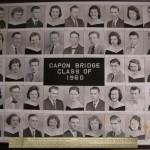 Capon Bridge High Graduates 1960