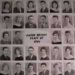 Capon Bridge High Graduates 1961