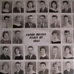 Capon Bridge High Graduates 1961