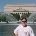 DC trip, Matt Anderson, National Archives
