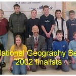 2002 GEOG. BEE finalists