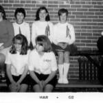 Cheerleaders March 1968, Lake