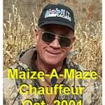 2001 PTO Corn Maize @ Bailes, JOHN Wolford drove