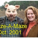 2001 PTO Corn Maize @ Bailes, RICK Poulin, MICHELLE Lee
