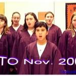 2001 PTO CHORUS