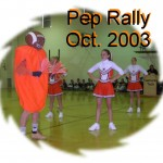 Pep Rally Oct. 2003