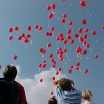 Red Ribbon Week 2001, Balloon release