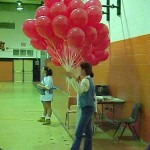 Red Ribbon Week, Candy with balloons