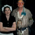 Beth (Honor Society) and Dick Munske 1st Fort Edward's Feast