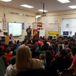 In April 2016 I visited W. M. Irving Elementary to promote  entomophagy