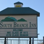 We got together at the South Branch Inn, Mountaintop, adross Rt. 50 from Hampshire High