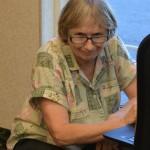 The intrepid techie-- Nancy Shingleton