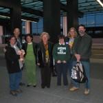 Terry, Steve, Ornella, the Principal, Laura Borri, Rita and Bill