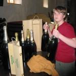 Phillip stocking up
