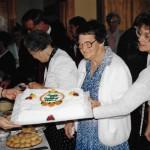 c. 1985 Maxine McDonald's birthday. w/Rosalie Keefauver, Vicki Davis, Susan Duff