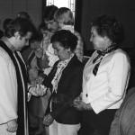 c. 1988 Communion Pastor Jim Speelman, Jack Jones, Vickie, Matt and Brooke Preiss, Tots Lee, Lake Henderson, Tim Springmann