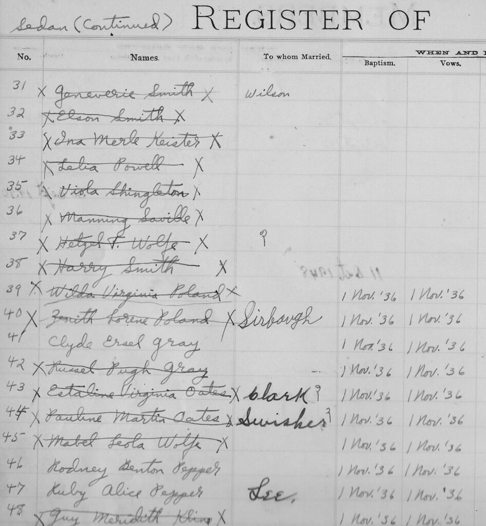 p. 79 top Register Sedan